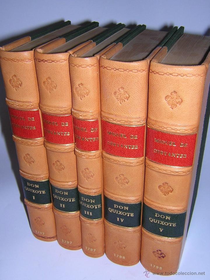 1797 - CERVANTES - DON QUIXOTE DE LA MANCHA - GABRIEL DE SANCHA (Libros antiguos (hasta 1936), raros y curiosos - Literatura - Narrativa - Clásicos)