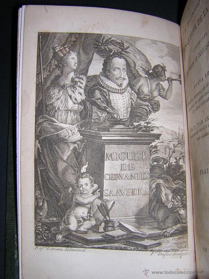 Libros antiguos: 1797 - CERVANTES - DON QUIXOTE DE LA MANCHA - GABRIEL DE SANCHA - Foto 3 - 46648647