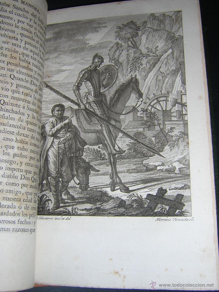 Libros antiguos: 1797 - CERVANTES - DON QUIXOTE DE LA MANCHA - GABRIEL DE SANCHA - Foto 9 - 46648647