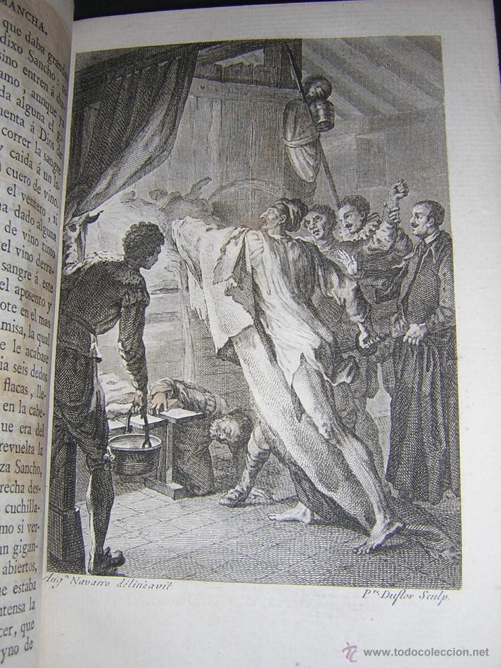 Libros antiguos: 1797 - CERVANTES - DON QUIXOTE DE LA MANCHA - GABRIEL DE SANCHA - Foto 11 - 46648647