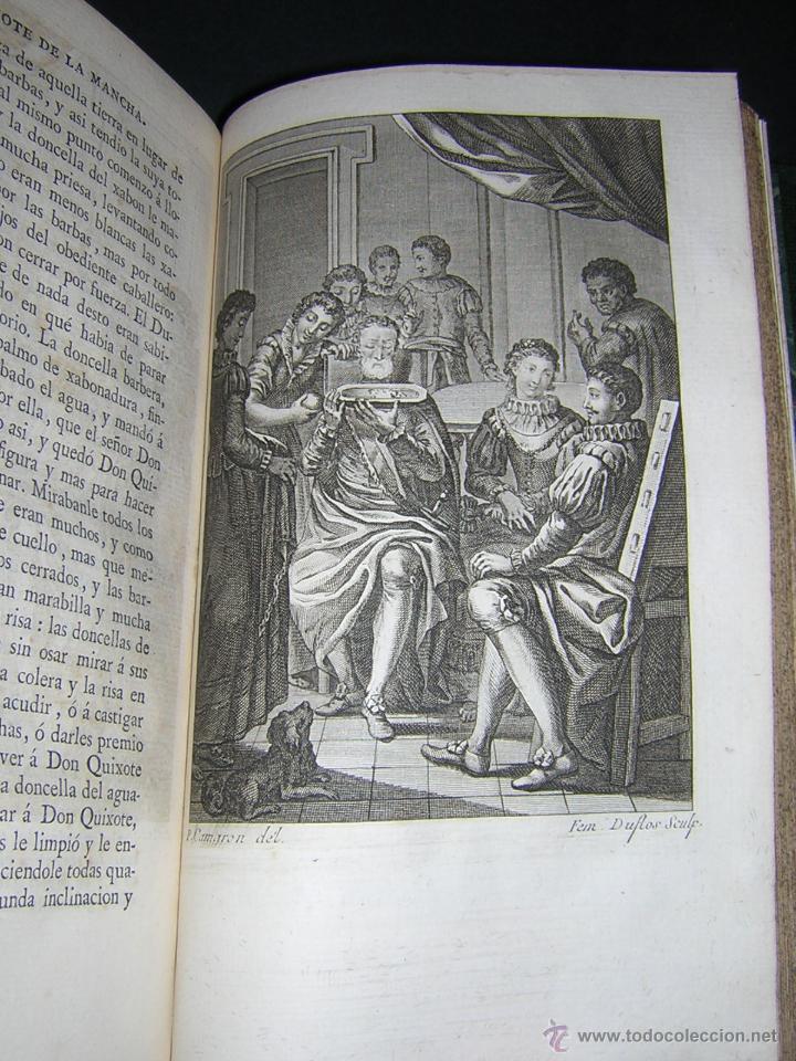 Libros antiguos: 1797 - CERVANTES - DON QUIXOTE DE LA MANCHA - GABRIEL DE SANCHA - Foto 14 - 46648647