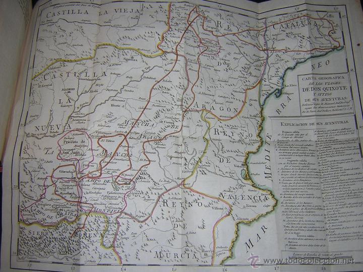 Libros antiguos: 1797 - CERVANTES - DON QUIXOTE DE LA MANCHA - GABRIEL DE SANCHA - Foto 17 - 46648647