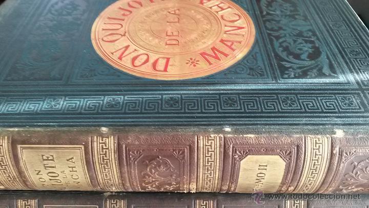 Libros antiguos: CERVANTES, DON QUIJOTE 1ª ED MONTANER Y SIMON 1880 , IL. POR BALACA Y PELLICER.enc.lujo SALVATELLA - Foto 7 - 46869693