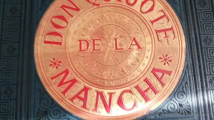 Libros antiguos: CERVANTES, DON QUIJOTE 1ª ED MONTANER Y SIMON 1880 , IL. POR BALACA Y PELLICER.enc.lujo SALVATELLA - Foto 8 - 46869693