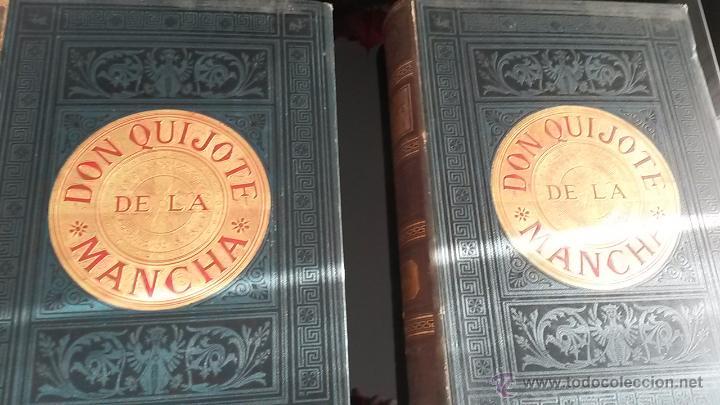Libros antiguos: CERVANTES, DON QUIJOTE 1ª ED MONTANER Y SIMON 1880 , IL. POR BALACA Y PELLICER.enc.lujo SALVATELLA - Foto 9 - 46869693