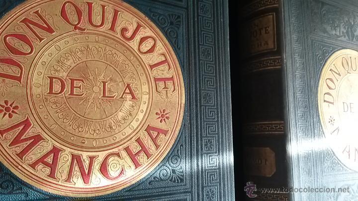 Libros antiguos: CERVANTES, DON QUIJOTE 1ª ED MONTANER Y SIMON 1880 , IL. POR BALACA Y PELLICER.enc.lujo SALVATELLA - Foto 11 - 46869693