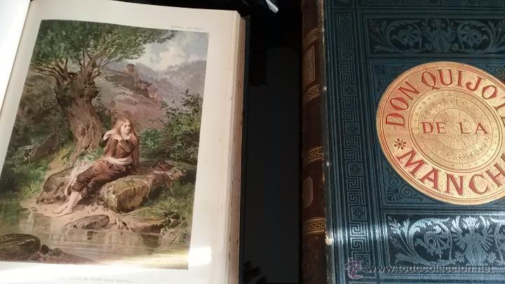 Libros antiguos: CERVANTES, DON QUIJOTE 1ª ED MONTANER Y SIMON 1880 , IL. POR BALACA Y PELLICER.enc.lujo SALVATELLA - Foto 13 - 46869693