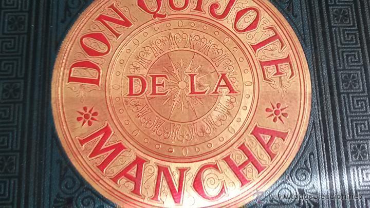 Libros antiguos: CERVANTES, DON QUIJOTE 1ª ED MONTANER Y SIMON 1880 , IL. POR BALACA Y PELLICER.enc.lujo SALVATELLA - Foto 16 - 46869693