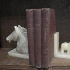 Libros antiguos: OBRAS COMPLETAS DE JOSE ZORRILLA, DELGADO ED 1905, 3 TOMOS, REF E1. Lote 47015072