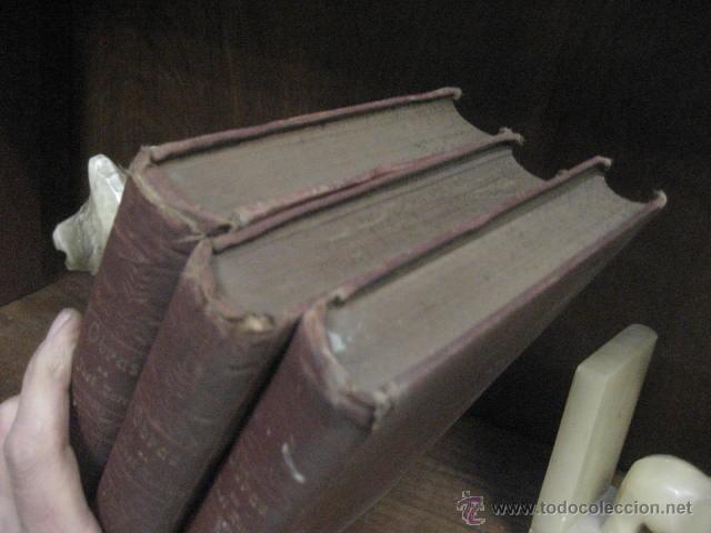 Libros antiguos: obras completas de jose Zorrilla, Delgado ed 1905, 3 tomos, ref E1 - Foto 3 - 47015072