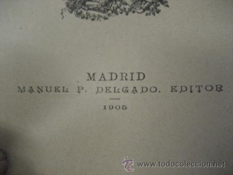 Libros antiguos: obras completas de jose Zorrilla, Delgado ed 1905, 3 tomos, ref E1 - Foto 5 - 47015072