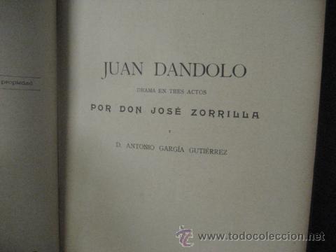 Libros antiguos: obras completas de jose Zorrilla, Delgado ed 1905, 3 tomos, ref E1 - Foto 6 - 47015072