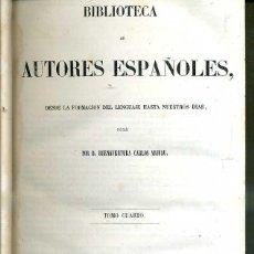 Libros antiguos: ELEGÍAS DE VARONES ILUSTRES DE INDIAS (BIBLIOTECA DE AUTORES ESPAÑOLES RIVADENEYRA, 1847). Lote 47125905