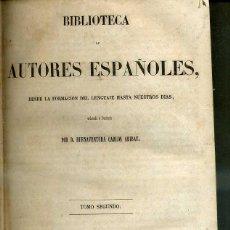 Libros antiguos: OBRAS DE NICOLAS Y LEANDRO FERNADEZ DE MORATIN (BIBLIOTECA DE AUTORES ESPAÑOLES RIVADENEYRA, 1846). Lote 47129757