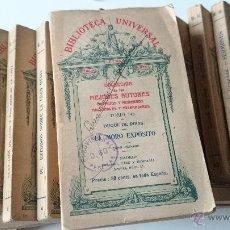 Libros antiguos: BIBLIOTECA UNIVERSAL 12 PEQUEÑOS TOMOS DIVERSOS AUTORES/VER RELACION Y FOTOS/ DEL 1916 AL 1926. Lote 47327627