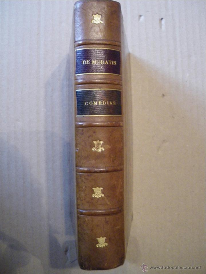 COMEDIAS. LEANDRO FERNANDEZ DE MORATIN. 1892 (Libros antiguos (hasta 1936), raros y curiosos - Literatura - Narrativa - Clásicos)