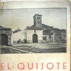 Libros antiguos: EL QUIJOTE DE AVELLANEDA 1934. BIBLIOTECA DE BOLSILLO NUM 37. Lote 47747687