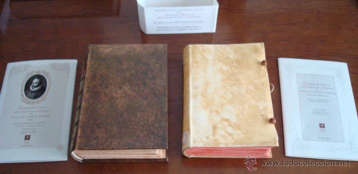 DON QUIJOTE DE LA MANCHA, CERVANTES, 1605-1615, FIEL REPRODUCCIÓN (5*). FACSÍMIL. TESTIMONIO (Libros antiguos (hasta 1936), raros y curiosos - Literatura - Narrativa - Clásicos)