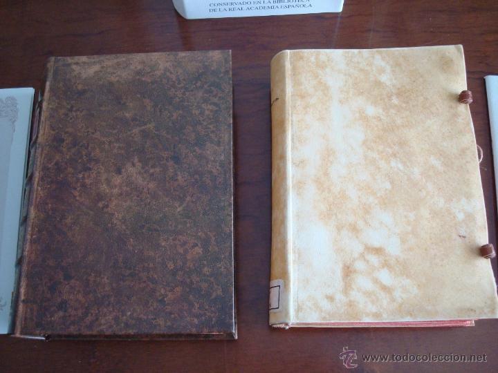 Libros antiguos: Don Quijote de La Mancha, Cervantes, 1605-1615, fiel reproducción (5*). Facsímil. Testimonio - Foto 2 - 35007106