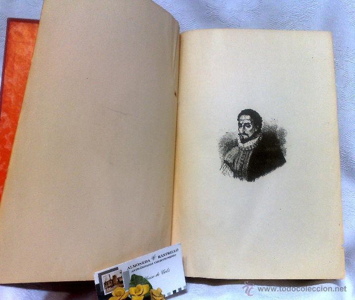 Libros antiguos: EL INGENIOSO HIDALGO DON QUIJOTE DE LA MANCHA.- MIGUEL DE CERVANTES SAAVEDRA. - Foto 3 - 48006076