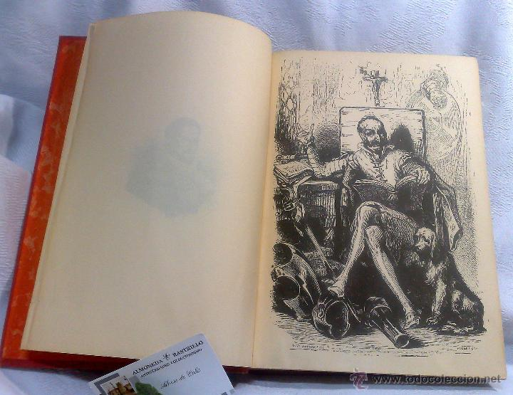 Libros antiguos: EL INGENIOSO HIDALGO DON QUIJOTE DE LA MANCHA.- MIGUEL DE CERVANTES SAAVEDRA. - Foto 5 - 48006076