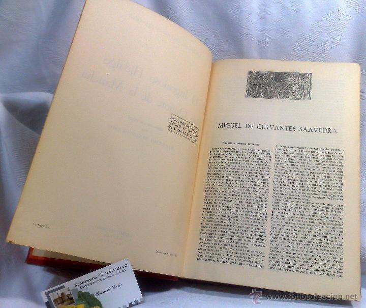 Libros antiguos: EL INGENIOSO HIDALGO DON QUIJOTE DE LA MANCHA.- MIGUEL DE CERVANTES SAAVEDRA. - Foto 11 - 48006076