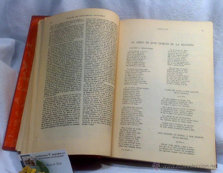 Libros antiguos: EL INGENIOSO HIDALGO DON QUIJOTE DE LA MANCHA.- MIGUEL DE CERVANTES SAAVEDRA. - Foto 14 - 48006076
