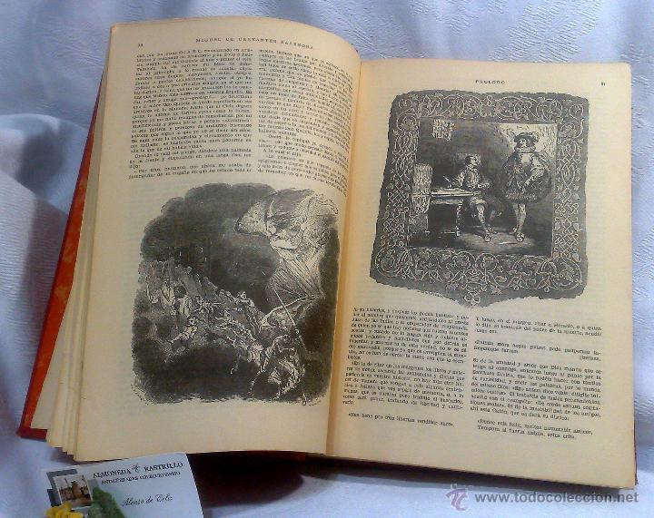 Libros antiguos: EL INGENIOSO HIDALGO DON QUIJOTE DE LA MANCHA.- MIGUEL DE CERVANTES SAAVEDRA. - Foto 15 - 48006076