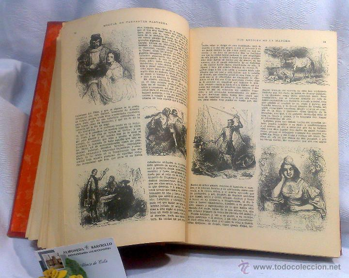 Libros antiguos: EL INGENIOSO HIDALGO DON QUIJOTE DE LA MANCHA.- MIGUEL DE CERVANTES SAAVEDRA. - Foto 16 - 48006076