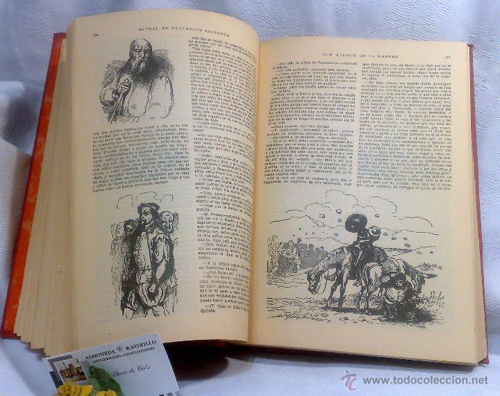 Libros antiguos: EL INGENIOSO HIDALGO DON QUIJOTE DE LA MANCHA.- MIGUEL DE CERVANTES SAAVEDRA. - Foto 17 - 48006076