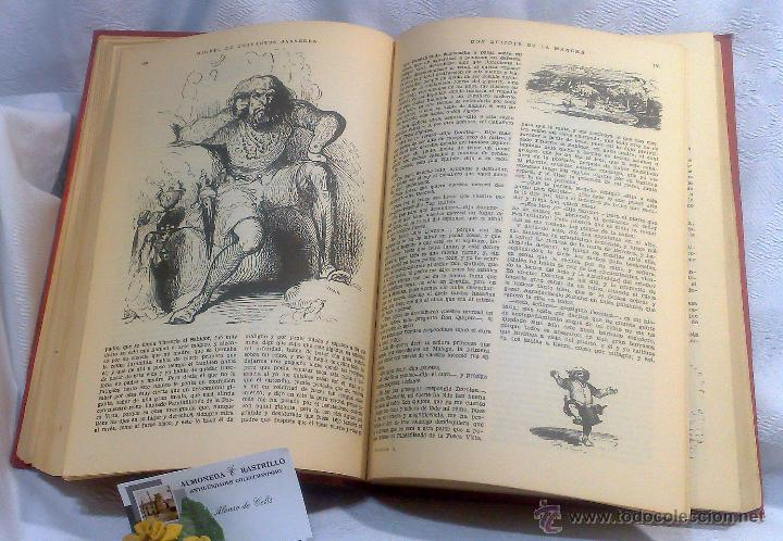 Libros antiguos: EL INGENIOSO HIDALGO DON QUIJOTE DE LA MANCHA.- MIGUEL DE CERVANTES SAAVEDRA. - Foto 18 - 48006076