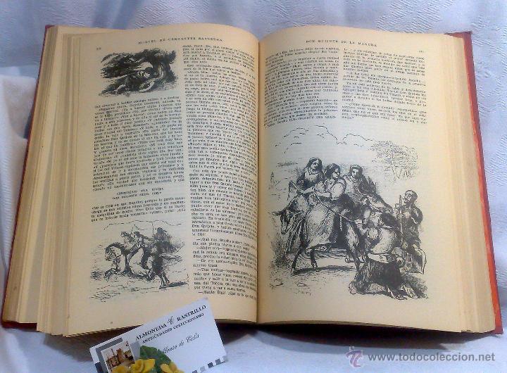 Libros antiguos: EL INGENIOSO HIDALGO DON QUIJOTE DE LA MANCHA.- MIGUEL DE CERVANTES SAAVEDRA. - Foto 19 - 48006076