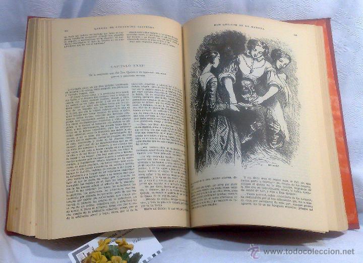 Libros antiguos: EL INGENIOSO HIDALGO DON QUIJOTE DE LA MANCHA.- MIGUEL DE CERVANTES SAAVEDRA. - Foto 20 - 48006076