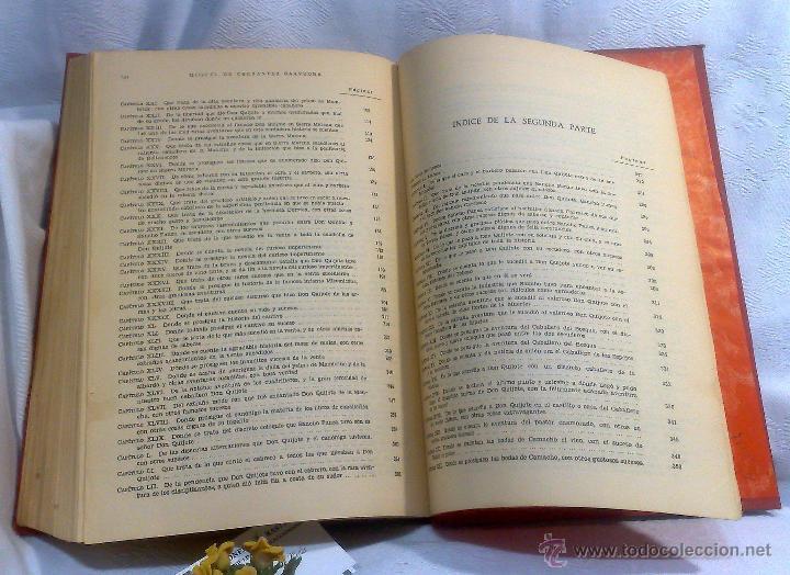 Libros antiguos: EL INGENIOSO HIDALGO DON QUIJOTE DE LA MANCHA.- MIGUEL DE CERVANTES SAAVEDRA. - Foto 21 - 48006076