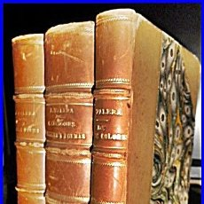 Libros antiguos: 1885-87. OBRAS DE JUAN VALERA. 3 ELEGANTÍSIMOS TOMOS.. Lote 48109899