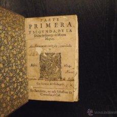 Libros antiguos: DIANA DE GEORGE DE MONTE MAYOR, 1614. Lote 48202416