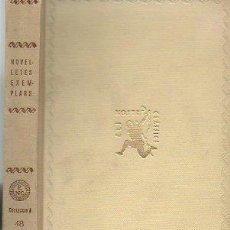 Libros antiguos: NOVELLETES EXEMPLARS. R. ARAMON ISIERRA. ELS NOSTRES CLASSICS, 1ª EDICIÓN, 1934 [CAT]. Lote 48265203