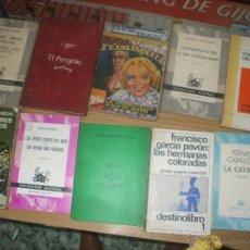 Libros antiguos: LOTE DE LIBROS VARIADOS .. Lote 48358884