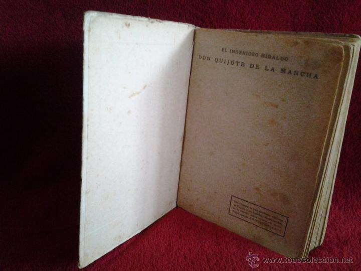 Libros antiguos: DON QUIJOTE DE LA MANCHA EDITORIAL CALLEJA, AÑO 1905 MIGUEL DE CERVANTES SAAVEDRA - Foto 3 - 48421021