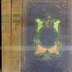 Libros antiguos: FEVAL . LOS AMORES DE PARIS (1858) DOS TOMOS, CON GRABADOS. Lote 48421272