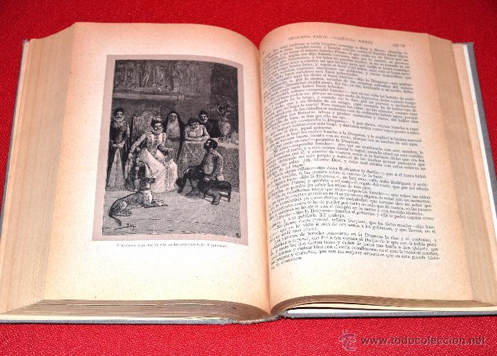 Libros antiguos: EL INGENIOSO HIDALGO DON QUIJOTE DE LA MANCHA MIGUEL DE CERVANTES. SEGUNDA SERIE. SATURNINO CALLEJA - Foto 4 - 48499142
