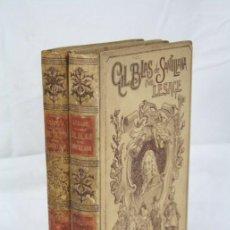 Libros antiguos: LIBROS / 2 TOMOS ILUSTRADOS GIL BLAS DE SANTILLANA. ALAIN-RENÉ LESAGE - ED. MONTANER Y SIMÓN. Lote 48645017