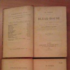 Libros antiguos: 1904 BLEAK - HOUSE / DICKENS - 2 TOMOS EN FRANCÉS. Lote 48651393