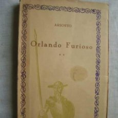 Libros antiguos: ORLANDO FURIOSO. TOMO II. ARIOSTO. Lote 48897276