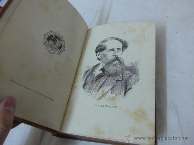 Libros antiguos: Carlos Dickens, el hijo de la parroquia. 1883. Libro - Foto 4 - 49125063