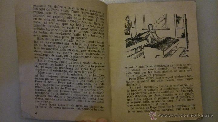 Libros antiguos: Antiguo libro tipo librillo: La merienda hurtada, de josé Maria Folch y Torres, Ed. Freixinet, BCN - Foto 2 - 49164150