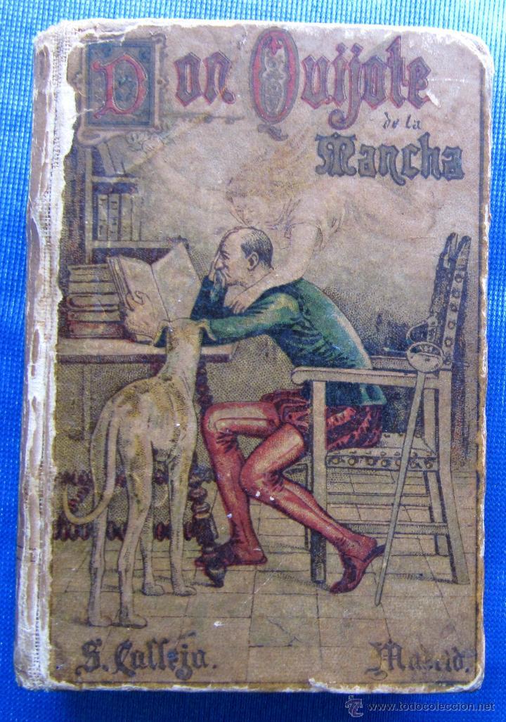 DON QUIJOTE DE LA MANCHA. EDICION MICROSCOPICA. EDITOR SATURNINO CALLEJA, MADRID, 1903. (Libros antiguos (hasta 1936), raros y curiosos - Literatura - Narrativa - Clásicos)