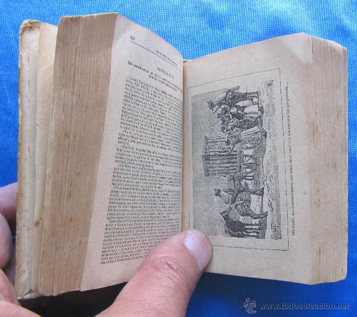 Libros antiguos: DON QUIJOTE DE LA MANCHA. EDICION MICROSCOPICA. EDITOR SATURNINO CALLEJA, MADRID, 1903. - Foto 4 - 49413479