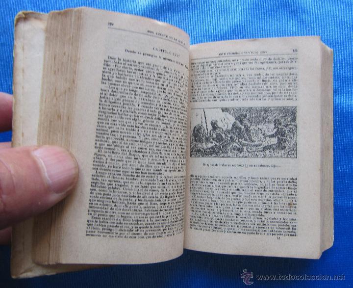 Libros antiguos: DON QUIJOTE DE LA MANCHA. EDICION MICROSCOPICA. EDITOR SATURNINO CALLEJA, MADRID, 1903. - Foto 5 - 49413479