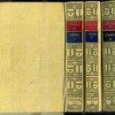 Libros antiguos: LARRA : ARTÍCULOS - TRES TOMOS (CLÁSICOS CASTELLANOS, 1927 - 1934 - 1940)). Lote 49553182